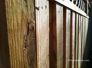 cercas en madera