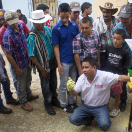 Durespo lleva desarrollo al campo de San Roque
