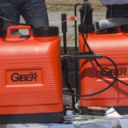 Las fumigadoras de espalda Giber: rendimiento y diseño ergonómico